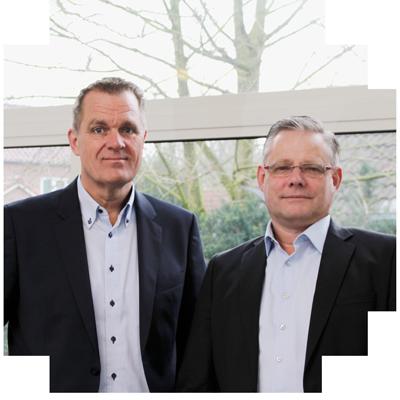 Hugo Greefhorst en Stephan Langedijk