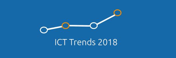4 ICT trends van 2018 uitgelicht