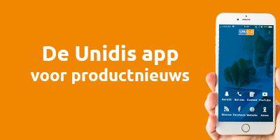 De Unidis app voor productnieuws
