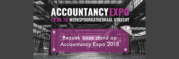 Accountancy Expo, hét innovatie event. Wij zijn er! Komt u ook?