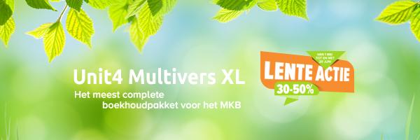 Lente actie Unit4 Multivers XtraLarge