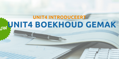 Unit4 introduceert Unit4 Boekhoud Gemak