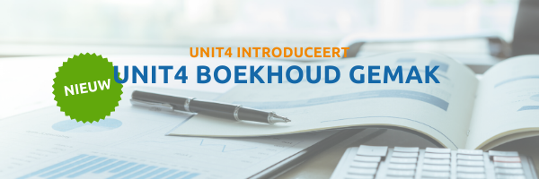 Unit4 introduceert Unit4 Boekhoud Gemak
