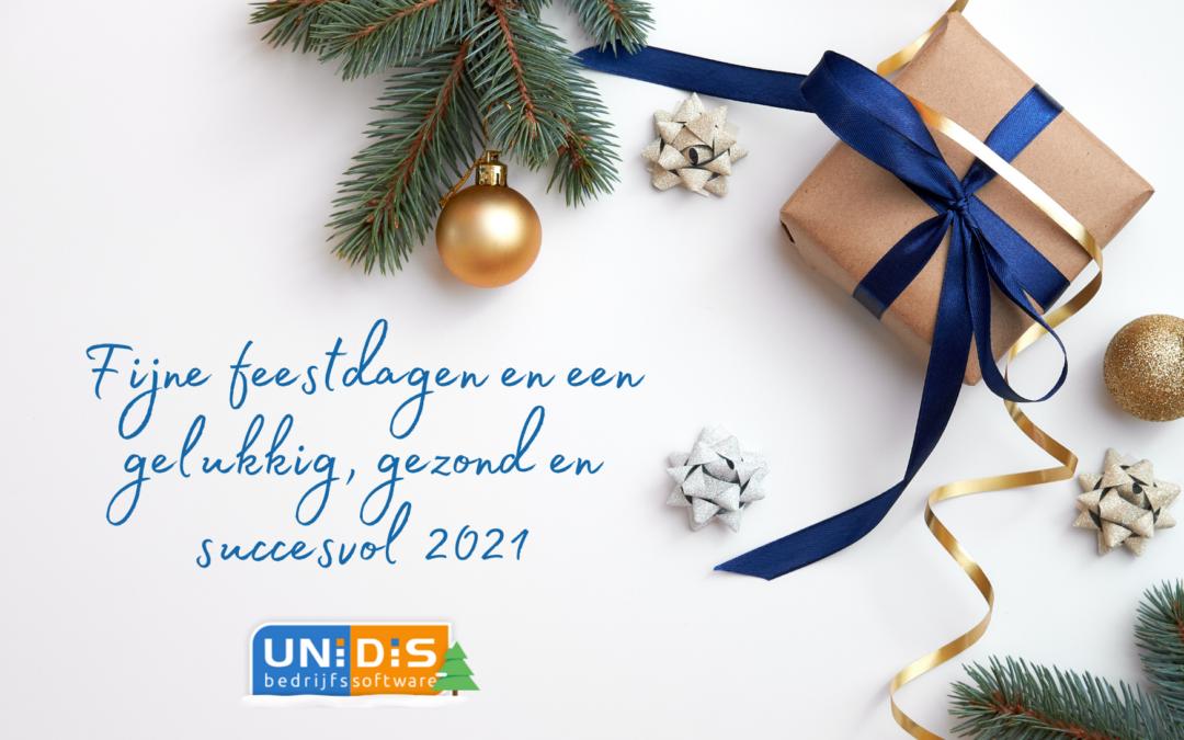 Op 24 en 31 december sluit Unidis om 16.00 uur